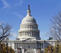 Capitol Building of USA Stock Photos