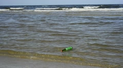 Message in a bottle Stock Footage