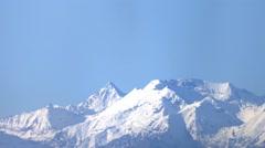 Italian Alps panning Stock Footage