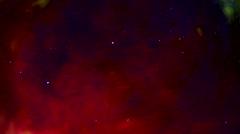 Meteor Hurling Through Deep Space Stock Footage