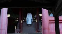 monack make ritual Stock Footage