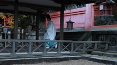 Monk make ritual  Stock Footage