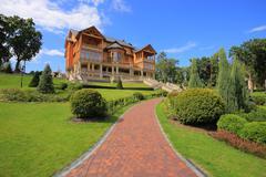 Stock Photo of mezhyhirya residence
