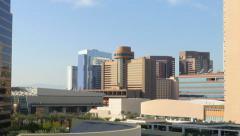Downtown Phoenix Zoom In Stock Footage