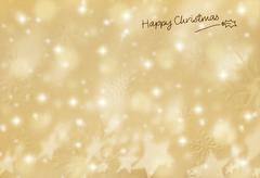 beautiful christmas card - stock illustration