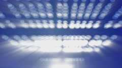 Abstract light balls blue motion background Arkistovideo