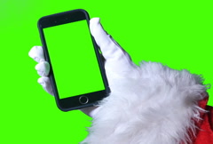 Green Screen Santa Claus iPhone Stock Footage