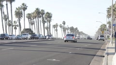 Pacific Coast Highway Time Lapse Stock Footage