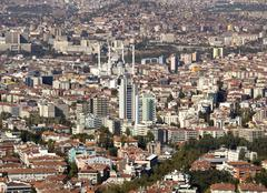 Ankara, Capital city of Turkey - stock photo