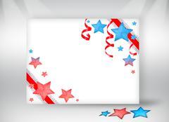 Happy holidays greeting card Stock Photos