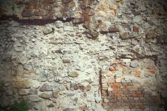old stone wall texture for your architectural design - stock photo