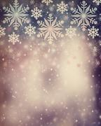 Beautiful vintage christmas background Stock Illustration