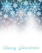 merry christmas greeting card border - stock illustration