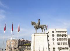 Ulus is old city center of Ankara,Capital city of Turkey Stock Photos