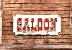 Western Saloon Stock Photos