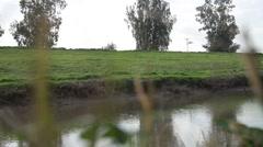 Jordan river Stock Footage