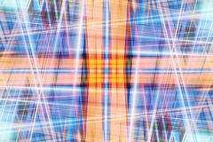 abstract crossing light beams - stock illustration