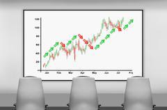 boardroom - stock illustration