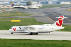 Czech airlines Stock Photos
