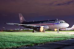 czech goverment's aircraft - stock photo