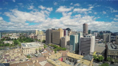 4k video of downtown Adelaide in the daytime - stock footage