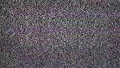 TV snow with large noise. Stock Footage