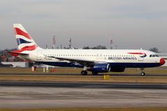 british airways - stock photo