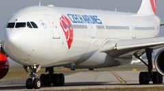 Csa - czech airlines Stock Photos
