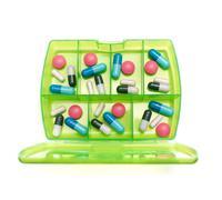weekly medicine - stock photo