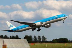 Stock Photo of klm - royal dutch airlines