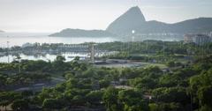 Sugar Loaf Mountain, Rio De Janeiro, Brazil. Timelapse 4K. Stock Footage