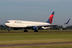 Stock Photo of delta air lines