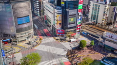 Shibuya Tokyo - stock footage