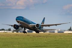 Vietnam airlines Stock Photos