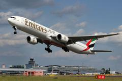 emirates airlines - stock photo