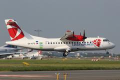 Csa czech airlines Stock Photos