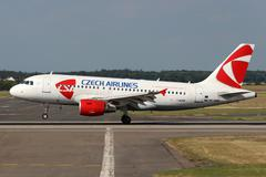 csa - czech airlines - stock photo