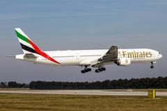 Emirates airlines Stock Photos