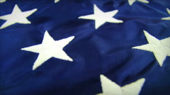 Stock Video Footage of Stars and Stripes American Flag