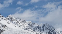 Mountain timelapse Stock Footage