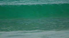 Turquoise sea water waves, Andaman Sea Stock Footage