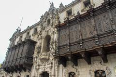 Archbishop's palace - lima, peru Stock Photos
