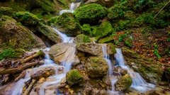 Time Lapse - Waterfall / River Stock Footage