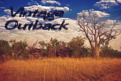 vintage outback - stock photo
