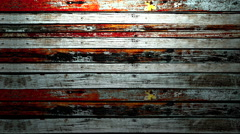 Rolling grunge wood background Stock Footage