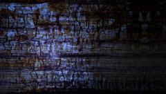 Rolling grunge wood background - stock footage