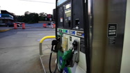 Stock Video Footage of Gasoline pump