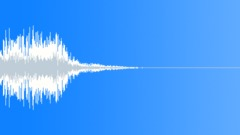 Stinger 002 descending 160bpm Sound Effect