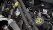 Stock Video Footage of Truck engine