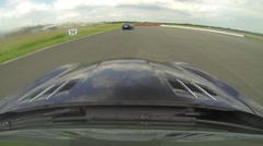 Mercedes SLS onboard 2 Stock Footage